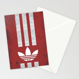 Unique Batik Adidas Dark Red Case Stationery Cards