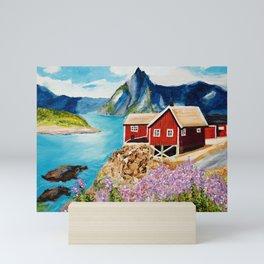 Lofoten Islands, Norway Mini Art Print