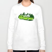 camping Long Sleeve T-shirts featuring Camping trip by Grilldress