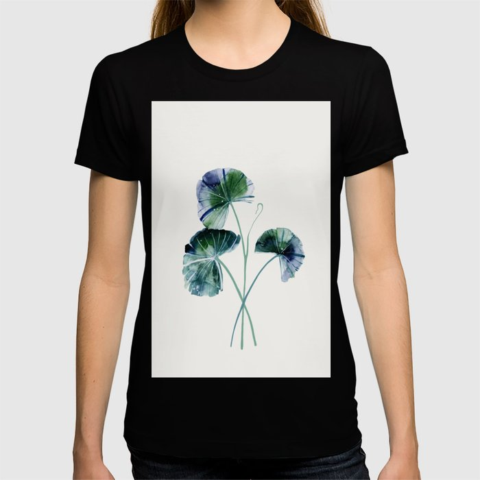 Water lily leaves T-shirt