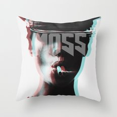 smokin' MOSS Throw Pillow
