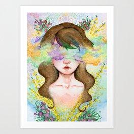 Haze Art Print
