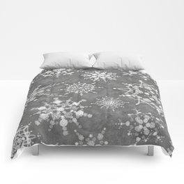 Winter Snowflakes Comforters