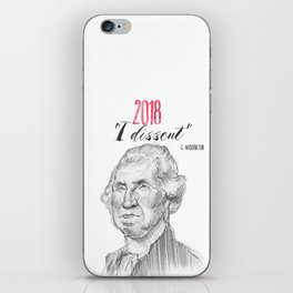 George Dissents iPhone Skin