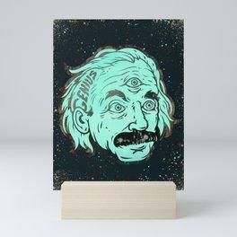 Genius Mini Art Print