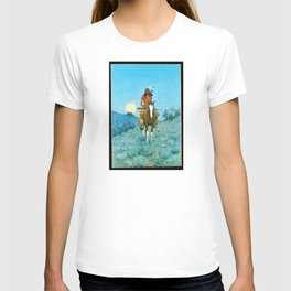 The Outlier by Frederic Sackrider Remington T-shirt