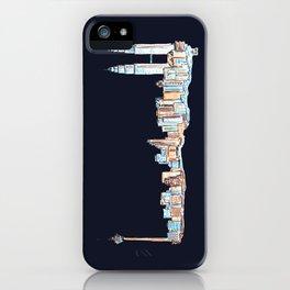 Kuala Lumpur - Midnight Version iPhone Case