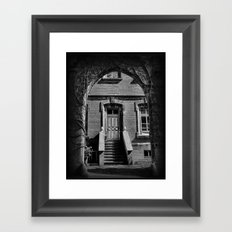 The Governors Door Framed Art Print