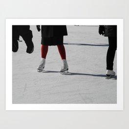 On Ice Art Print