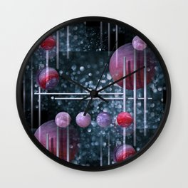 crazy patterns -2- Wall Clock