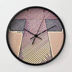 Justice Cross Wall Clock