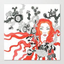 Hair 3 Canvas Print