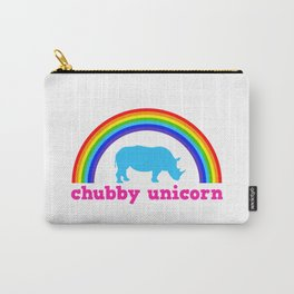 Chubby unicorn Carry-All Pouch