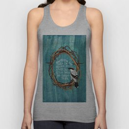 shrike with thorns Unisex Tank Top