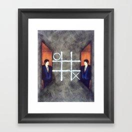 X's & O's Framed Art Print