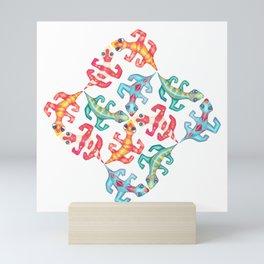 Tricky Tessellations Mini Art Print