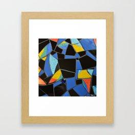 Toucan Dance Mosaic Framed Art Print