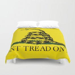 Don't Thread On Me Flag Duvet Cover