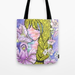 Keep Going (With Anxiety Confined) Tote Bag