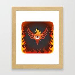 f.eye.nix Framed Art Print