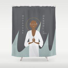 Gandhi Shower Curtain