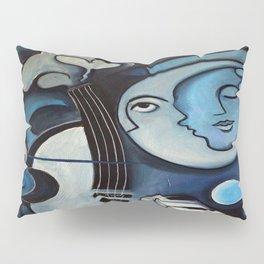 Black & Bleu Pillow Sham