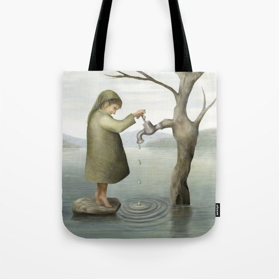 Drip, drip, drip Tote Bag