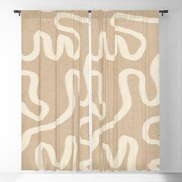 abstract minimal  65 Blackout Curtain