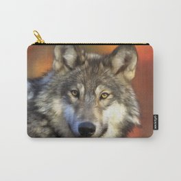 AUTUMN WOLF Carry-All Pouch
