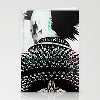punk Stationery Cards featuring PUNK by Taylor Callery Illustration