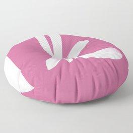 Typographic K Floor Pillow