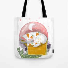 The Rabbit Diaries: Sleep and Dream (c) 2017 Tote Bag
