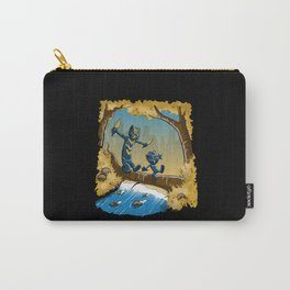 black panther and golden jaguar Carry-All Pouch