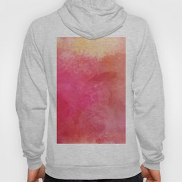 Pink Butterfly Vintage Roses Background Pattern Hoody