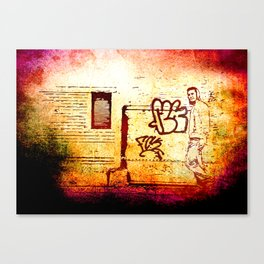 New Grunge is Cool! Canvas Print