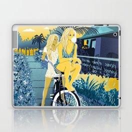 The girls on the bike Laptop & iPad Skin