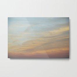 Sunset on the East Coast Metal Print