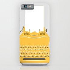 The Lonely Typewriter {mustard} iPhone 6s Slim Case