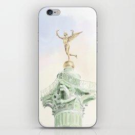 Colonne de Juillet , Place de la Bastille iPhone Skin