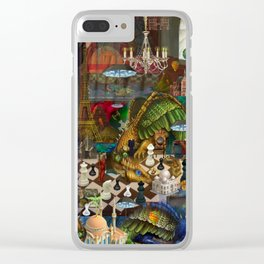 Middle Ages Mentality Clear iPhone Case