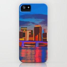 Miami Evening iPhone Case