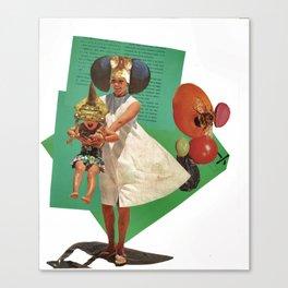 Julie and Emma Canvas Print