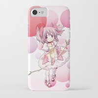 madoka iPhone & iPod Cases featuring Madoka Kaname by Yue Graphic Design