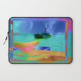 View of The Lady In Waiting Laptop Sleeve