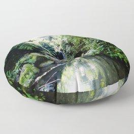 HAWAIIAN WATERFALLS Floor Pillow