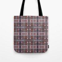 doors Tote Bags featuring doors by Mackenzie Leigh