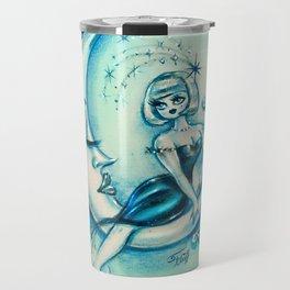 Girl on the Moon Travel Mug