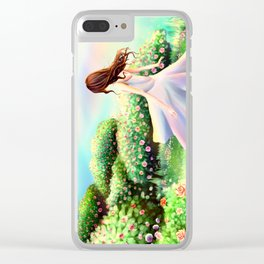Sweet Summer Youth Clear iPhone Case