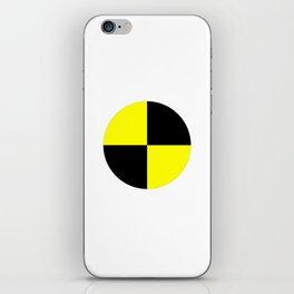 crash test dummies symbol  iPhone Skin