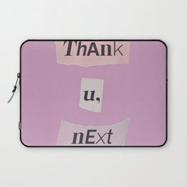 thank you next - Ariana - pink 2 Laptop Sleeve